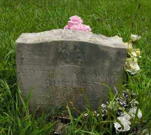 BUTLER, EDITH YVONNE - Boone County, Arkansas | EDITH YVONNE BUTLER - Arkansas Gravestone Photos