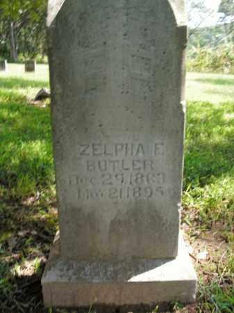 BUTLER, ZELPHA ELIZABETH - Boone County, Arkansas | ZELPHA ELIZABETH BUTLER - Arkansas Gravestone Photos