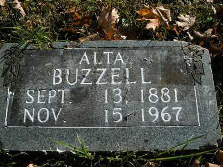 BUZZELL, ALTA - Boone County, Arkansas | ALTA BUZZELL - Arkansas Gravestone Photos