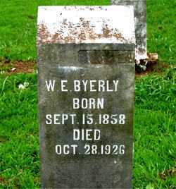 BYERLY, W.E. - Boone County, Arkansas | W.E. BYERLY - Arkansas Gravestone Photos