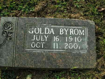 BYROM, GOLDA - Boone County, Arkansas | GOLDA BYROM - Arkansas Gravestone Photos