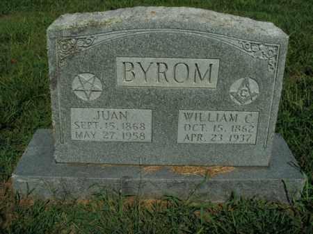 BYROM, JUAN - Boone County, Arkansas | JUAN BYROM - Arkansas Gravestone Photos