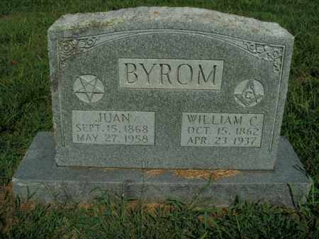BYROM, WILLIAM C. - Boone County, Arkansas | WILLIAM C. BYROM - Arkansas Gravestone Photos