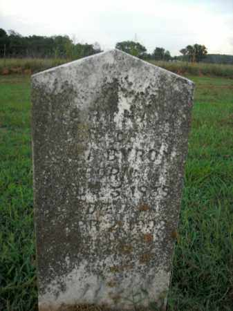 BYRON, MARTHA J. - Boone County, Arkansas | MARTHA J. BYRON - Arkansas Gravestone Photos