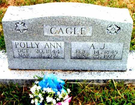 CAGLE, A.J. - Boone County, Arkansas | A.J. CAGLE - Arkansas Gravestone Photos