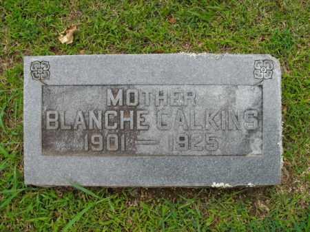 CALKINS, BLANCHE ELIZABETH - Boone County, Arkansas | BLANCHE ELIZABETH CALKINS - Arkansas Gravestone Photos