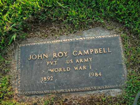 CAMPBELL  (VETERAN WWI), JOHN ROY - Boone County, Arkansas | JOHN ROY CAMPBELL  (VETERAN WWI) - Arkansas Gravestone Photos