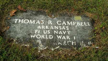 CAMPBELL  (VETERAN WWI), THOMAS R - Boone County, Arkansas | THOMAS R CAMPBELL  (VETERAN WWI) - Arkansas Gravestone Photos
