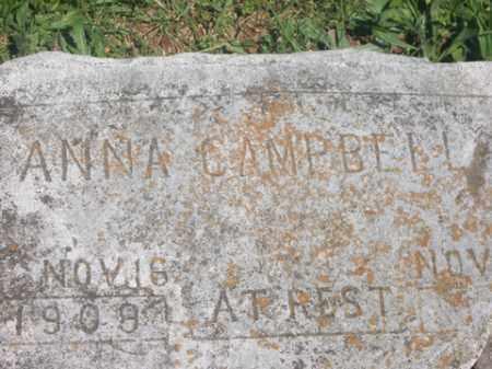 CAMPBELL, ANNA - Boone County, Arkansas | ANNA CAMPBELL - Arkansas Gravestone Photos