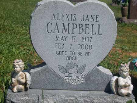 CAMPBELL, ALEXIS JANE - Boone County, Arkansas | ALEXIS JANE CAMPBELL - Arkansas Gravestone Photos