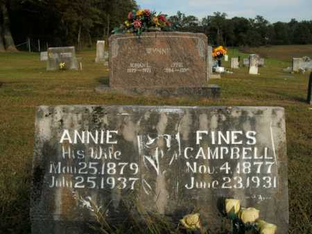 CAMPBELL, FINES - Boone County, Arkansas | FINES CAMPBELL - Arkansas Gravestone Photos