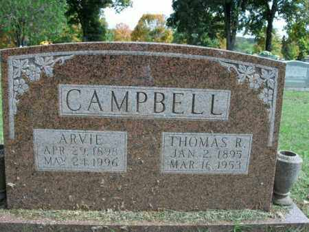 "CAMPBELL, RACHEL VIOLA ""ARVIE"" - Boone County, Arkansas 