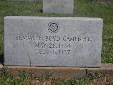 CAMPBELL, BENJAMIN BOYD - Boone County, Arkansas | BENJAMIN BOYD CAMPBELL - Arkansas Gravestone Photos