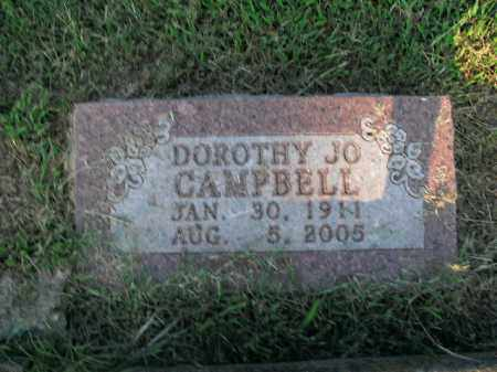 CAMPBELL, DOROTHY JO - Boone County, Arkansas | DOROTHY JO CAMPBELL - Arkansas Gravestone Photos
