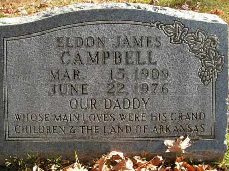 CAMPBELL, ELDON JAMES - Boone County, Arkansas | ELDON JAMES CAMPBELL - Arkansas Gravestone Photos