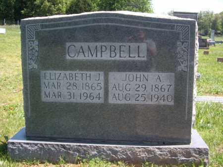 CAMPBELL, JOHN A. - Boone County, Arkansas | JOHN A. CAMPBELL - Arkansas Gravestone Photos