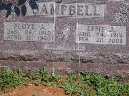 CAMPBELL, FLOYD A - Boone County, Arkansas | FLOYD A CAMPBELL - Arkansas Gravestone Photos