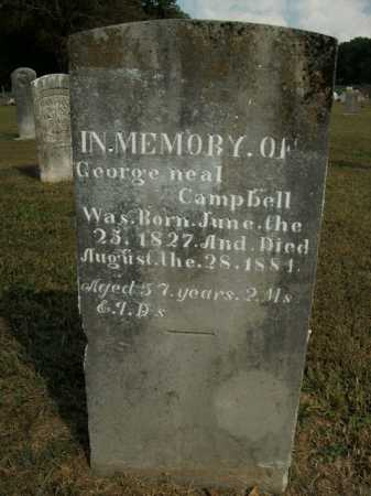 CAMPBELL, GEORGE NEAL - Boone County, Arkansas | GEORGE NEAL CAMPBELL - Arkansas Gravestone Photos