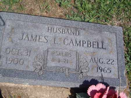 CAMPBELL, JAMES L. - Boone County, Arkansas | JAMES L. CAMPBELL - Arkansas Gravestone Photos