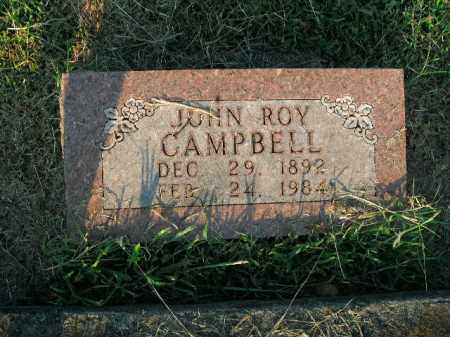 CAMPBELL, JOHN ROY - Boone County, Arkansas | JOHN ROY CAMPBELL - Arkansas Gravestone Photos