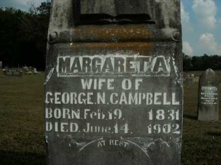 CAMPBELL, MARGARETA - Boone County, Arkansas | MARGARETA CAMPBELL - Arkansas Gravestone Photos