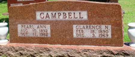 CAMPBELL, CLARENCE N - Boone County, Arkansas | CLARENCE N CAMPBELL - Arkansas Gravestone Photos