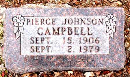 CAMPBELL, PIERCE  JOHNSON - Boone County, Arkansas | PIERCE  JOHNSON CAMPBELL - Arkansas Gravestone Photos