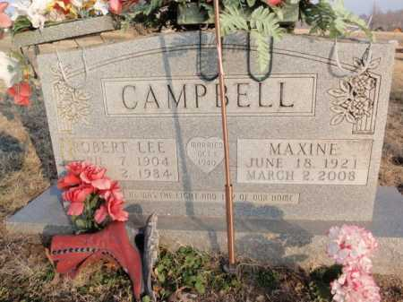 CAMPBELL, ROBERT  LEE - Boone County, Arkansas | ROBERT  LEE CAMPBELL - Arkansas Gravestone Photos