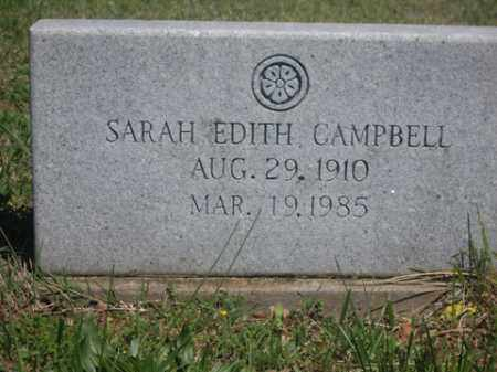 NEIGHBORS CAMPBELL, SARAH EDITH - Boone County, Arkansas | SARAH EDITH NEIGHBORS CAMPBELL - Arkansas Gravestone Photos