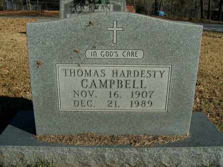 CAMPBELL, THOMAS HARDESTY - Boone County, Arkansas | THOMAS HARDESTY CAMPBELL - Arkansas Gravestone Photos