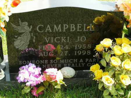 CAMPBELL, VICKI JO - Boone County, Arkansas | VICKI JO CAMPBELL - Arkansas Gravestone Photos