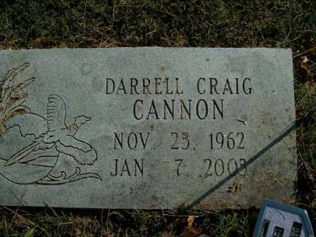 CANNON, DARRELL CRAIG - Boone County, Arkansas | DARRELL CRAIG CANNON - Arkansas Gravestone Photos