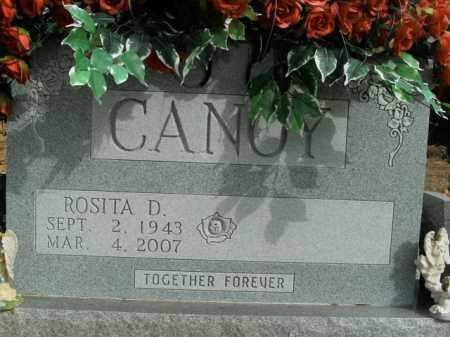 CANOY, ROSITA D. - Boone County, Arkansas | ROSITA D. CANOY - Arkansas Gravestone Photos