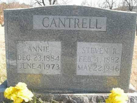 CANTRELL, ANNIE - Boone County, Arkansas | ANNIE CANTRELL - Arkansas Gravestone Photos