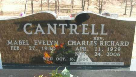 CANTRELL, CHARLES RICHARD - Boone County, Arkansas | CHARLES RICHARD CANTRELL - Arkansas Gravestone Photos