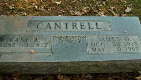 CANTRELL, JAMES O. - Boone County, Arkansas | JAMES O. CANTRELL - Arkansas Gravestone Photos