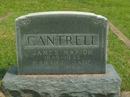 CANTRELL, JAMES MARION - Boone County, Arkansas | JAMES MARION CANTRELL - Arkansas Gravestone Photos
