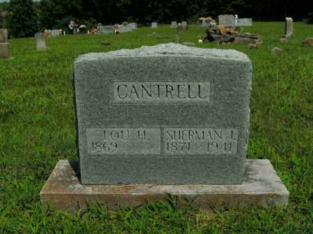 CANTRELL, SHERMAN L. - Boone County, Arkansas | SHERMAN L. CANTRELL - Arkansas Gravestone Photos