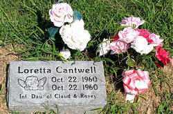 CANTWELL, LORETTA - Boone County, Arkansas | LORETTA CANTWELL - Arkansas Gravestone Photos