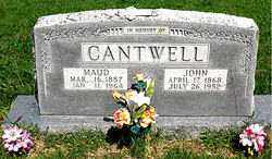 WATSON CANTWELL, MAUD GREENBERRY - Boone County, Arkansas | MAUD GREENBERRY WATSON CANTWELL - Arkansas Gravestone Photos