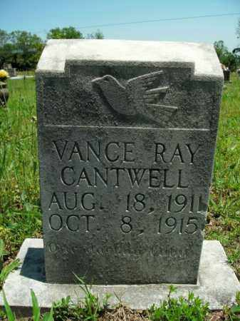 CANTWELL, VANCE RAY - Boone County, Arkansas | VANCE RAY CANTWELL - Arkansas Gravestone Photos