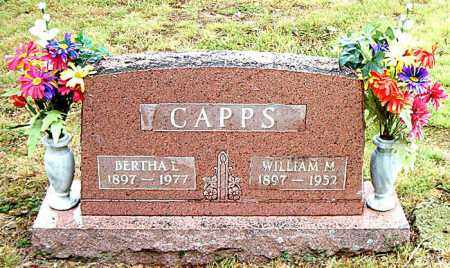 CAPPS, WILLIAM  M. - Boone County, Arkansas | WILLIAM  M. CAPPS - Arkansas Gravestone Photos