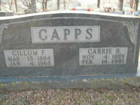 CAPPS, CARRIE BELLE - Boone County, Arkansas | CARRIE BELLE CAPPS - Arkansas Gravestone Photos
