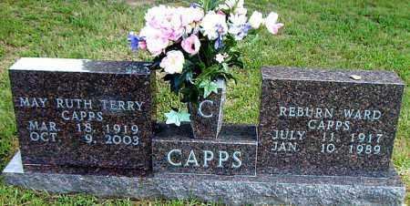 TERRY CAPPS, MAY RUTH - Boone County, Arkansas | MAY RUTH TERRY CAPPS - Arkansas Gravestone Photos