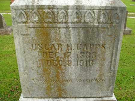 CAPPS, OSCAR H. - Boone County, Arkansas | OSCAR H. CAPPS - Arkansas Gravestone Photos