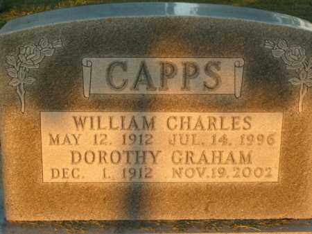CAPPS, WILLIAM CHARLES - Boone County, Arkansas | WILLIAM CHARLES CAPPS - Arkansas Gravestone Photos