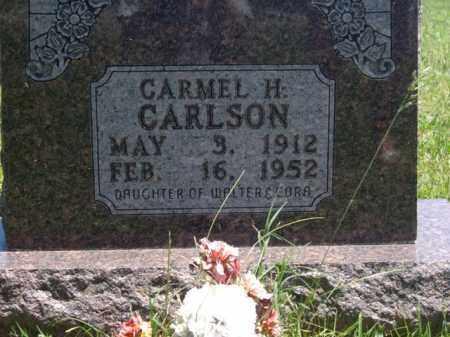 CARLSON, CARMEL H. - Boone County, Arkansas | CARMEL H. CARLSON - Arkansas Gravestone Photos