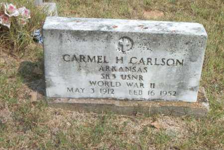 CARLSON  (VETERAN WWII), CARMEL H. - Boone County, Arkansas | CARMEL H. CARLSON  (VETERAN WWII) - Arkansas Gravestone Photos