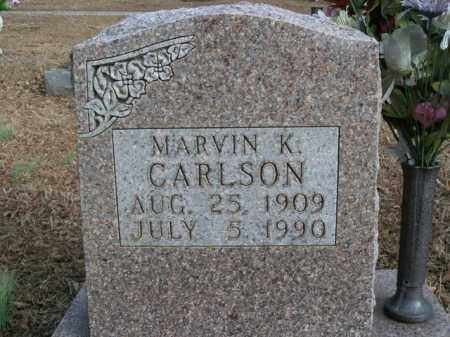 CARLSON, MARVIN K. - Boone County, Arkansas | MARVIN K. CARLSON - Arkansas Gravestone Photos
