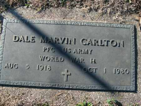 CARLTON  (VETERAN WWII), DALE MARVIN - Boone County, Arkansas | DALE MARVIN CARLTON  (VETERAN WWII) - Arkansas Gravestone Photos